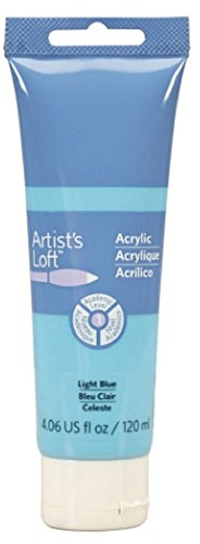 4 Light Loft (Artist's Loft Acrylic Paint, 4 oz (Light Blue))