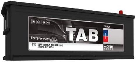 Travaux Publics Tab Polar Truck Tr15M Batterie Poids Lourds Agricoles En 12 V 150Ah 1000 Amps