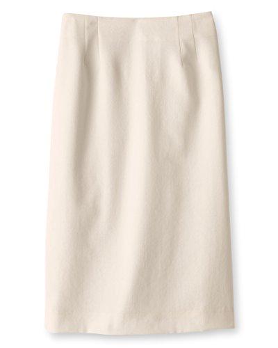 - Pendleton Women's Seasonless Wool Gabardine Pencil Skirt, 16, Ivory