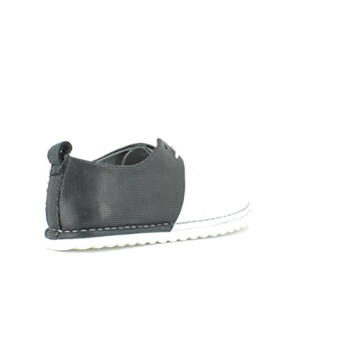 Felmini A149 White+black - Zapatos de cordones para mujer white+black