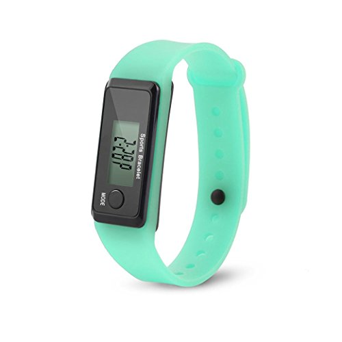 Amazon.com : Iuhan Fitness Tracker for Men Women and Kids, Calorie Counter Pedometer Sport Activity Tracker Digital LCD Walking Distance Run Step Watch ...