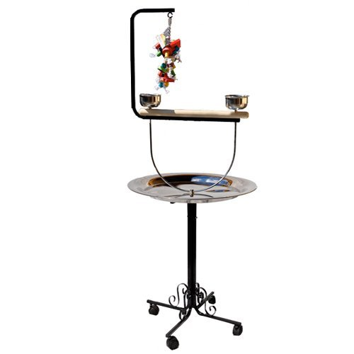PARROT BIRD METAL PLAYSTAND