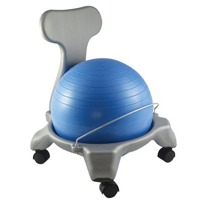 Balance Ball Chair - Child Size - Blue