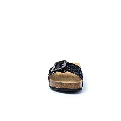 Plakton Sabot Donna Nero Sabot sandali Nero Plakton sandali Donna Plakton Sabot tAqCwZ