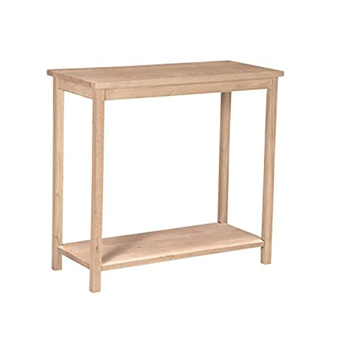 International Concepts OT 43 Accent Table, Unfinished