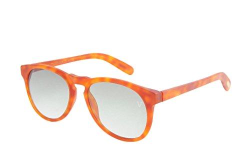Platinum Vintage Sunglasses Gradient Round Orange Steve Mcqueen Sunglasses Matte - Steve Mcqueen Sunglasses