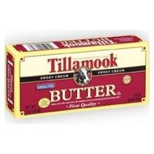 Tillamook Sweet Cream Unsalted Butter, 1 Pound -- 18 per case.