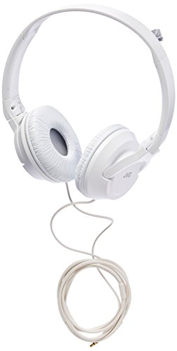 - JVC HAS180W The Amazing On-Ear Headphones, White