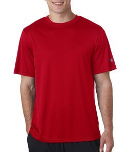Champion Double Dry Tee, L-Scarlet