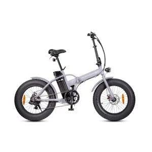 316AfKTWkmL. SS300 Smartway Monster Fat E-Bike Pieghevole Argento