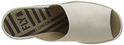 Jamb865fly Femme Mules London Fly Ivoire Offwhite 5HRn85aW