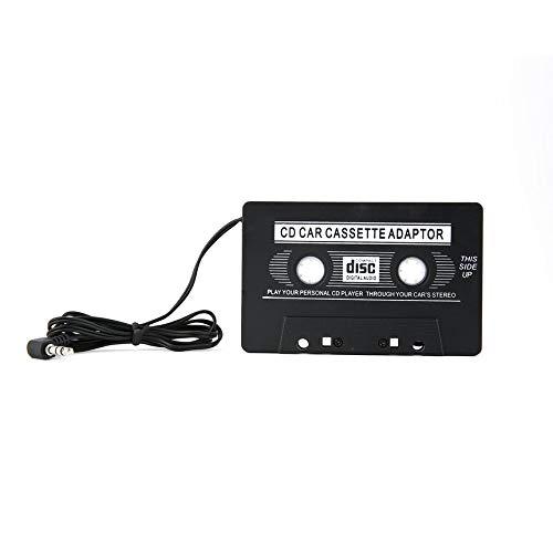 Revemx Cassette del Coche del convertidor del Adaptador de Cinta para el MP3 para el iPhone 4 4S para iPod Touch Nano CD MD