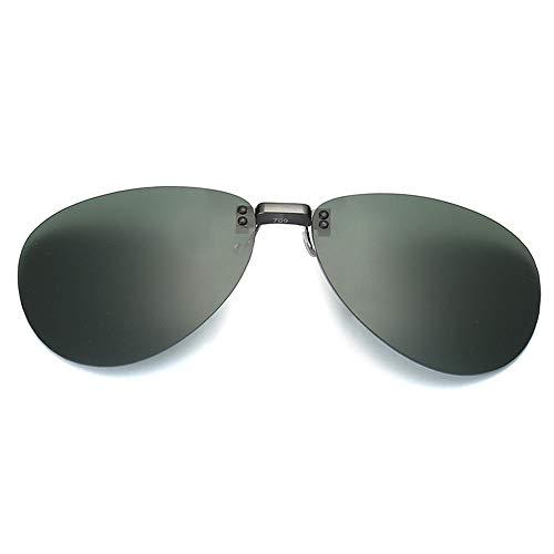 magnesio Moda 709 Colorido C Sol Aluminio y A clásicas Espejo Gafas miopía de de Rana polarizador conducción Espejo de Conductor de Clips KOMNY dXAxqRZR