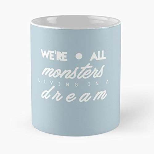 Forever Halloween The Maine (The Maine Forever Halloween Lyrics - 11 Oz Coffee Mug- Unique Birthday Gift-the Best Gift For)