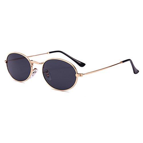 lentille cadre petit de métal soleil ovales hommes C3 Hibote UV400 femmes pour en Vintage plastique en et Lunettes Hvq5W7znO