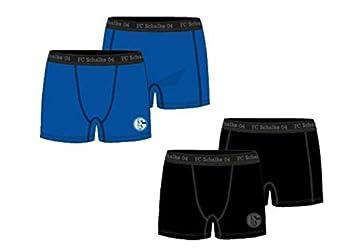 8 FC Gelsenkirchen-Schalke 04 eV FC Schalke 04 Herren Boxershorts 2er Pack Gr