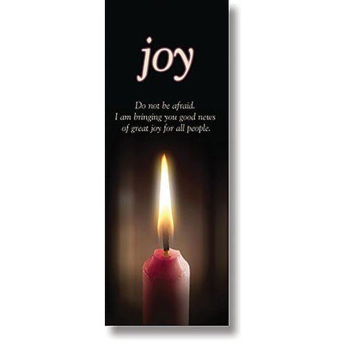 Catholic & Religious Advent Candle Series X-Stand Banner - Joy