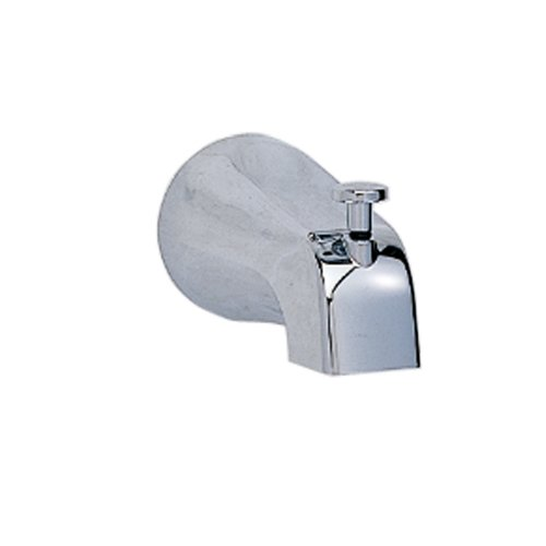 American Bath Bathtub (American Standard 8888.026.002 Slip-On 4-Inch Diverter Tub Spout, Polished Chrome)