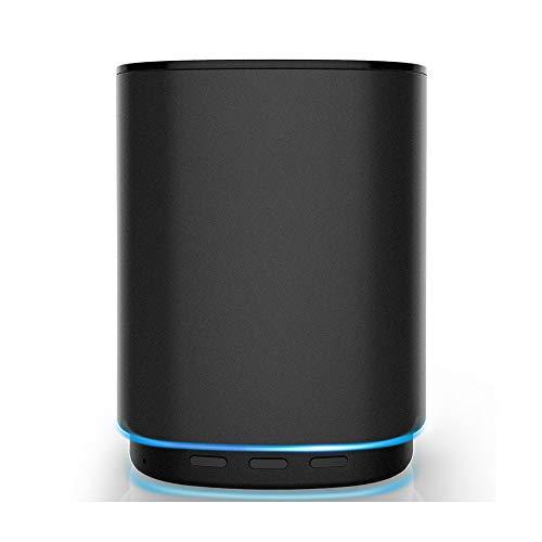 HUIGE TS5 Bluetooth Audio controlado Voz Inteligente Altavoz Interactivo Ordenador portátil Altavoces al Aire Libre...