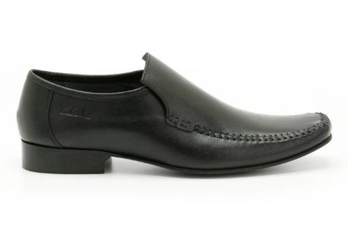 Clarks Mens Formal Shoes Fellow Slip Black IN24KoUMQ