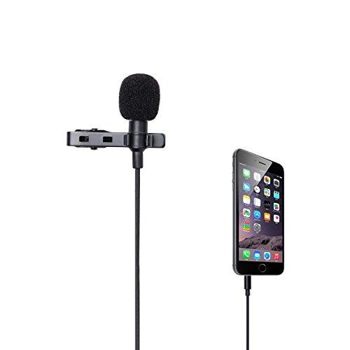 LANMU Microphone Omnidirectional Condenser Smartphones