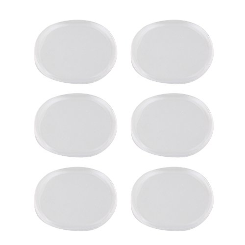 al Shape Silicone Mute Silencer Pads for Rock Band Drum Set of 6 (Rock Sets Saxophone)