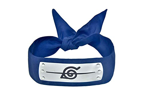 DAZCOS Japanese Anime Leaf Village Traitor Ninja Headband (Blue)