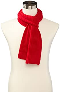 Williams Cashmere Men's Ribbed Scarf, Cherry, One Size (B00EOI1L84) | Amazon price tracker / tracking, Amazon price history charts, Amazon price watches, Amazon price drop alerts