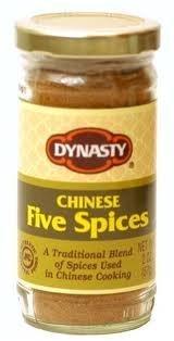 Dynasty, Seasoning Five Spice Powder, 2-ounce (6 Pack) by Dynasty