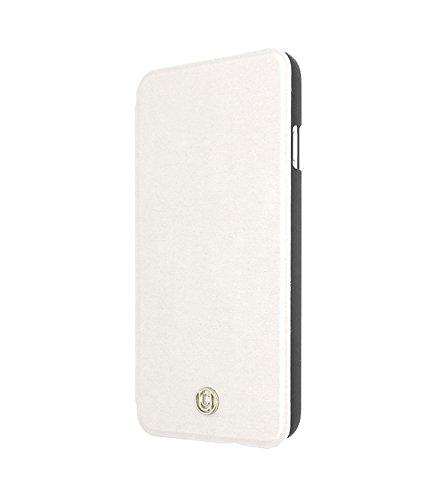 Uunique magnetisch 2-in-1-Queens Guards Folio Hard Shell Case für iPhone 6/6S–Weiß
