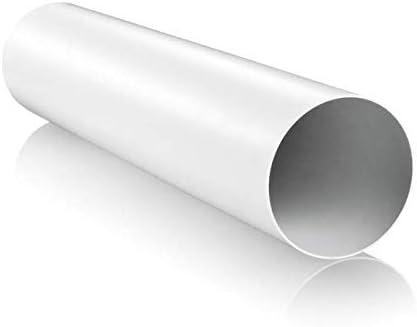 100/mm x 6/m wei/ß Blauberg UK blauflex PVC//102//6/Kunststoff PVC W/äschetrockner Schlauch Rohr Rohr
