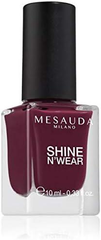 Esmalte de uñas brillo de larga duración Rojo Burdeos SHINE NWEAR FULL 202 10ml