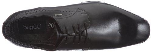 Bugatti Stringate Nero Scarpe U18011 Schwarz Uomo BrpBnwSqA