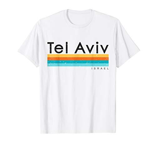 - Vintage Retro Tel Aviv Israel T-shirt Design