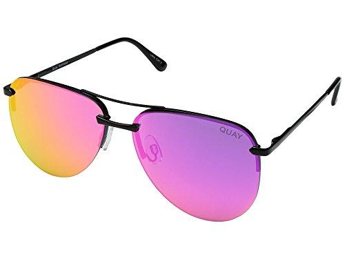 QUAY AUSTRALIA Womens The Playa Black/Pink One Size