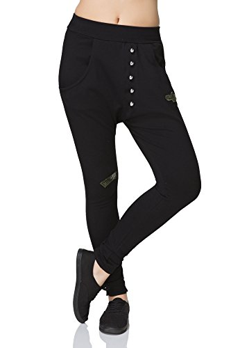 Futuro Negro Para Mujer Pantalón Fashion gqrg1