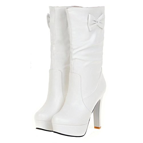 Boot Da Aiyoumei Classic Bianco Donna q1v8H8P