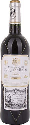 Marqués de Riscal – Vino tinto Reserva Denominación de Origen Calificada Rioja, Variedad Tempranillo, 24 meses en…