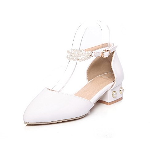 Compensées Blanc 5 Femme EU BalaMasa Blanc Sandales 36 ASL05388 ITxSE