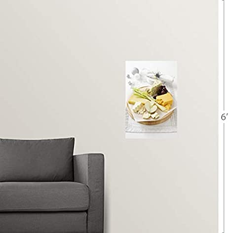 Amazon.com: Wall Peel Wall Art Print Entitled Cheese and ...