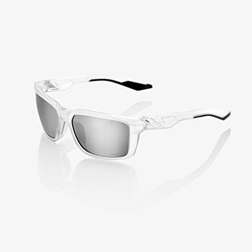 100 unisex-adult Speedlab 61030-010-76 Daze-Matte Translucent Crystal Clear-HiPER Silver Mirror Len
