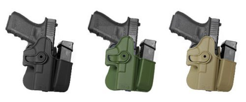 IMI Defense Left Hand Tactical Retention Polymer Holster Glock 17 22 31 28 GEN - 4 Gen 4 Elite