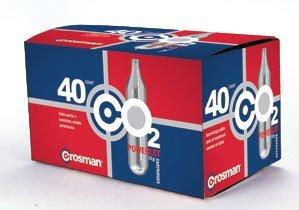 Crosman 12 Gram CO2 (40 Cartridges) (Salt The Gun That Shoots Pepper Spray Pellets)
