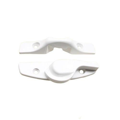 Andersen® Sash Lock & Keeper in White Color (1968 to Present) by Andersen Windows