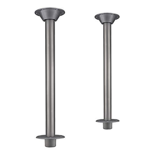 Mount Flush Floor - RV Dinette Booth Table Leg with Flush Floor Mount for RVs | Premium 27