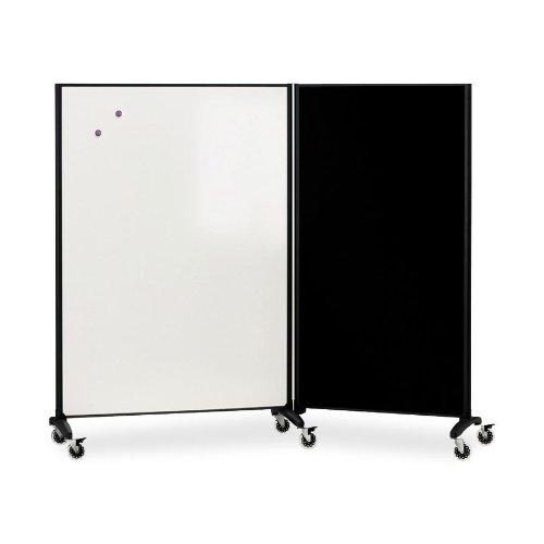 (Acco - Quartet Motiontm Marker & Bulletin Room Divider Divider,Rm/Brd,6X3,,Gph C9508Fn#140 (Pack Of 2))