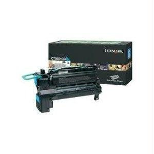 (Lexmark X792 Taa Cyan Extra High Yield Return Program Print Cartridge - By