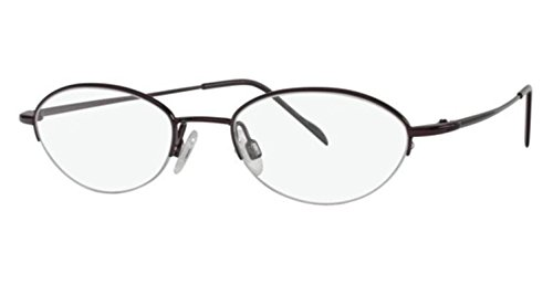 Flexon Flx 883Mag-Set Eyeglasses 604 Burgundy Demo 48 18 135 ()