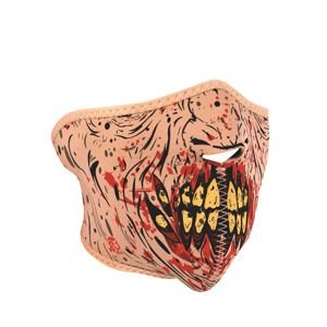 Zan Headgear Men's Zombie Neoprene Half Face Mask, One Size ()