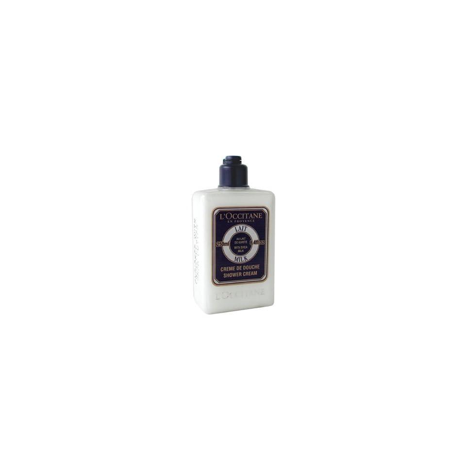 Shea Butter Shower Cream   Milk   250ml/8.4oz